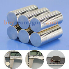50pcsx N42 Super Strong Disc Magnet 12mmx1.5mm Rare Earth Neodymium Disk Magnets