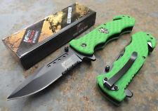 MTECH Xtreme Skull Knife Messer Rettungsmesser 440C Stahl G10 Griff MXA803GNS