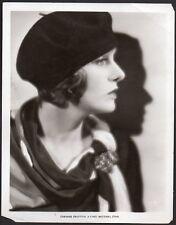 CORINNE GRIFFITH silent film actress VINTAGE ORIG PHOTO hat fashion portrait