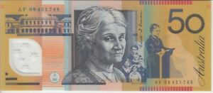 Australia Banknote P. 60f-1748 50 Dollars (20)08, UNC WE COMBINE