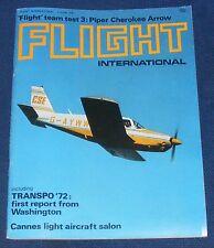 FLIGHT INTERNATIONAL JUNE 1 1972 - CANNES LIGHT AIRCRAFT SALON