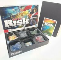 Risk Strategy Board Game Hasbro Sealed Contents