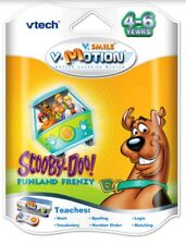 VTech Vsmile VMotion Scooby Doo Funland Frenzy Active Learning System 4 to 6 yrs