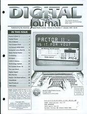 1995 Digital Journal (Radio): PACTOR II/1st ADRS WPX/Computer Lans/EA Contest