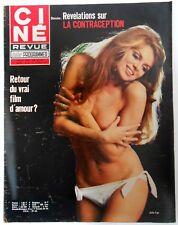 ►CINE REVUE 8/1971-MARLENE JOBERT-CLAUDE JADE-GREER GARSON-RAQUEL WELCH-HOFFMANN