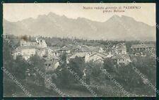 Belluno San Gregorio nelle Alpi Paderno cartolina QT3781