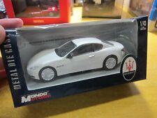 MONDO MOTORS - Maserati Granturismo - white - Scale 1/43 - Mini Car -