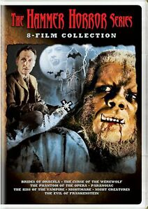 The Hammer Horror Series 8-Film Collection DVD  NEW