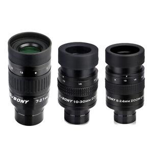 SVBONY 1,25inch Zoom Okulare 7-21 mm / 8-24 mm/10-30 mm FMC Metall für Teleskope