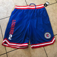 NBA Mens Kawhi Leonard 2 Los Angeles Clippers Shorts Size Large New With Tags