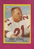 1967 PHILADELPHIA  # 166 CARDINALS JERRY STOVALL NRMT-MT CARD (INV# A5098)