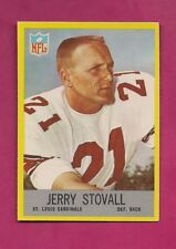 1967 PHILADELPHIA  # 166 CARDINALS JERRY STOVALL NRMT-MT CARD (INV# A5098)