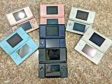Nintendo DS Lite USG-001 Red Blue Black Silver White Pink CHOOSE COLOR