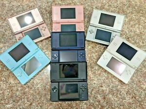 Nintendo DS Lite USG-001 Red Clear Black Silver White Pink CHOOSE COLOR