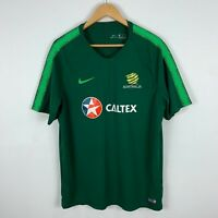 Nike Australian Socceroos Football Jersey Shirt Mens XL Retro Short Sleeve