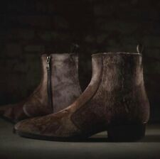 John Varvatos Collection Ludlow Vintage Zip Boot Size 8.5 USA 41.5