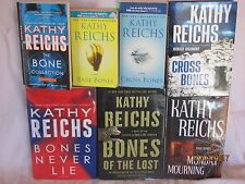 Kathy Reichs bones series including Bones Never Lie 7 books total