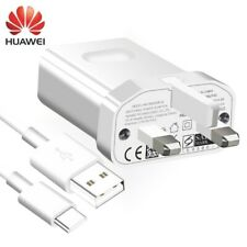 GENUINE QUICK FAST CHARGER PLUG & TYPE-C CABLE FOR HUAWEI P30 P20 P10 HONOR MATE