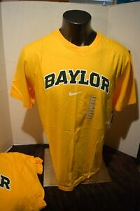 "Baylor University Bears Green or Gold Nike T-Shirt NCAA ""BAYLOR"" Mens  SM-3X"