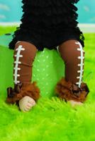 Football Leg Warmers, NFL, Baby and girls leggings, patriots, steelers, broncos