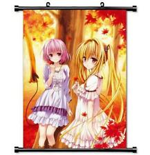 Japan Anime To Love-Ru Darkness home decor Wall Scroll Poster  21cmX30cm