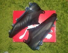 Puma One 5.1 FG AG Kangaroo Leather Soccer Cleat Football Boot Blackout