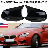 Gecheer Car Rear View Side Mirror Cover Replacement for BMW F01 F10 F11 F12 F13 Auto Side Wing Mirror Cover Reverse Mirror Shell Caps