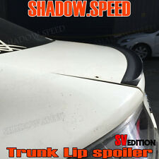 Unpainted SV Type Rear Trunk Lip Spoiler Wing For AUDI A4 B7 2006~08 Sedan ✪