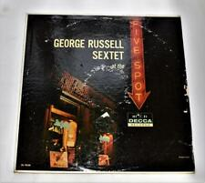 George Russell At The Five Spot 1960 Decca DL 9220  Post Bop 33rpm LP Strong VG+