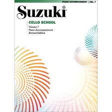 Suzuki Cello School - Volume 7 - Revised Edition - Piano Accompaniment Book