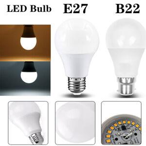 6X 10X B22 E27 LED Bulb Lamp Globe Ball Light Bayonet Screw Energy Saving Bulb
