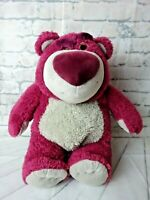 "DISNEY PARKS -TOY STORY 3 -LOTSO HUGGIN TEDDY BEAR STRAWBERRY SCENT 13"" TALL"