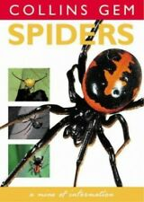Spiders (Collins Gem) by Hillyard, Paul Paperback Book The Cheap Fast Free Post