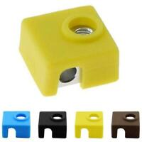 1x 3D Printer Mk8 Protective Silicone Sock Covers Case Block For Heater U5L8