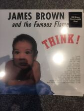 JAMES BROWN AND HIS  FAMOUS FLAMES 'THINK' (reissue) NEW 180 GRAM VINYL LP