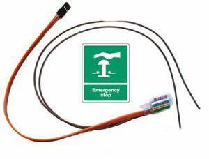 Motor Stop Fail-Safe 3 Kanal Uni für 1/5 er Carson Reely HPI FG Boot Benzin usw