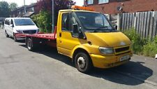 FORD TRANSIT 2003 T350 LWB RECOVERY TRUCK + NEW WINCH + TWIN AXLE + BIG BED