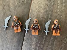 Lego The Hobbit - 79012 - Original Figurine - 3 * Gundabad Orc 2 - Neuf