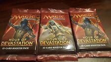 3x Hour of Devastation SEALED Booster Packs MtG Magic the Gathering Cards HOU