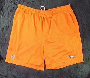 Mens Denver Broncos RBK Team Apparel Mesh Orange (XL) SHIPPED PROMPTLY 💨