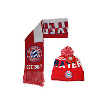 d118261240d FC Bayern Munich Scarf and Beanie Official Authentic Licensed New Season 002