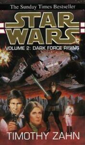 Star Wars - Volume 2: Dark Force Rising by Zahn, Timothy Paperback Book The