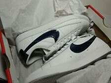 Nike Blazer Low Se Uk9.5 Us10.5 Eur44.5 Classic Trainer Premium Leather White