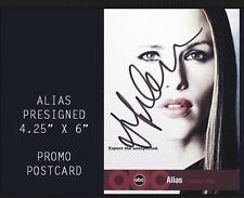JENNIFER GARNER signed printed ALIAS promo card