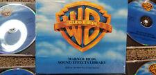 Warner Bros. Sound Effects Library 5 CDs ROYALTY FREE Sound Ideas SFX Cartoon