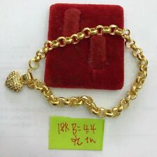GoldNMore: 18K Gold Bracelet  7.5 inches