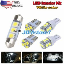 5x White LED Map Dome lights interior package kit for 2005-2015 Toyota Tacoma