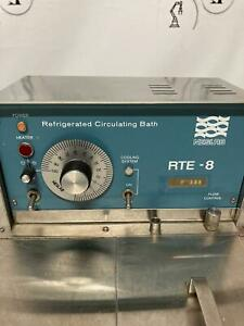 Neslab Refrigerated Circulating Bath  RTE-8  60 DAYS WARRANTY!!  SEE VIDEO!!