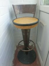 More details for pair of art deco style bar/ breakfast bar stools