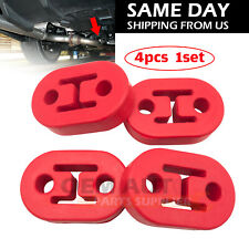 4Pcs Universal for Most Car Vehicles Muffler Exhaust Pipe Mount Bracket Hangers